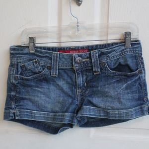 Guess Stretch Jean Shorts